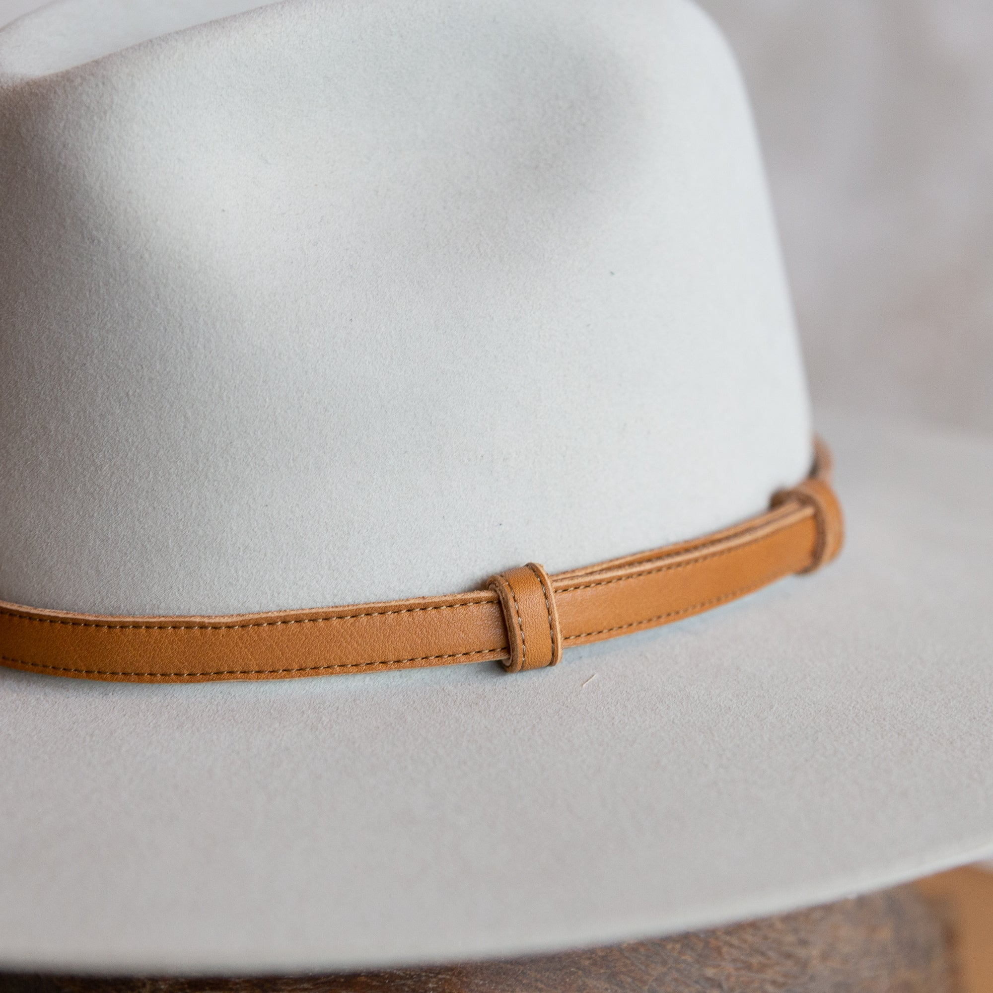 Cowboy Tan Hat Band