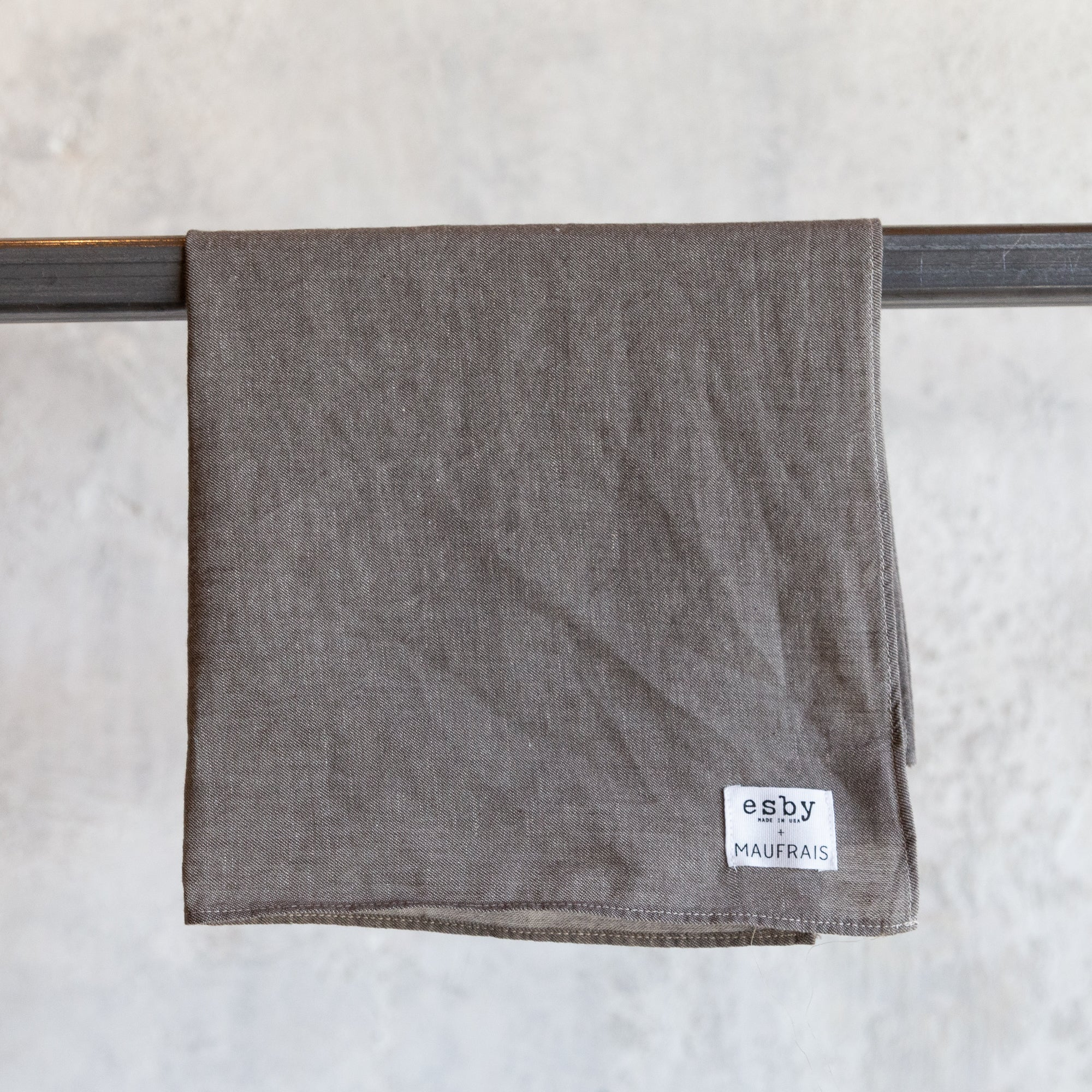 esby x maufrais Collaboration Bandana - Light Brown