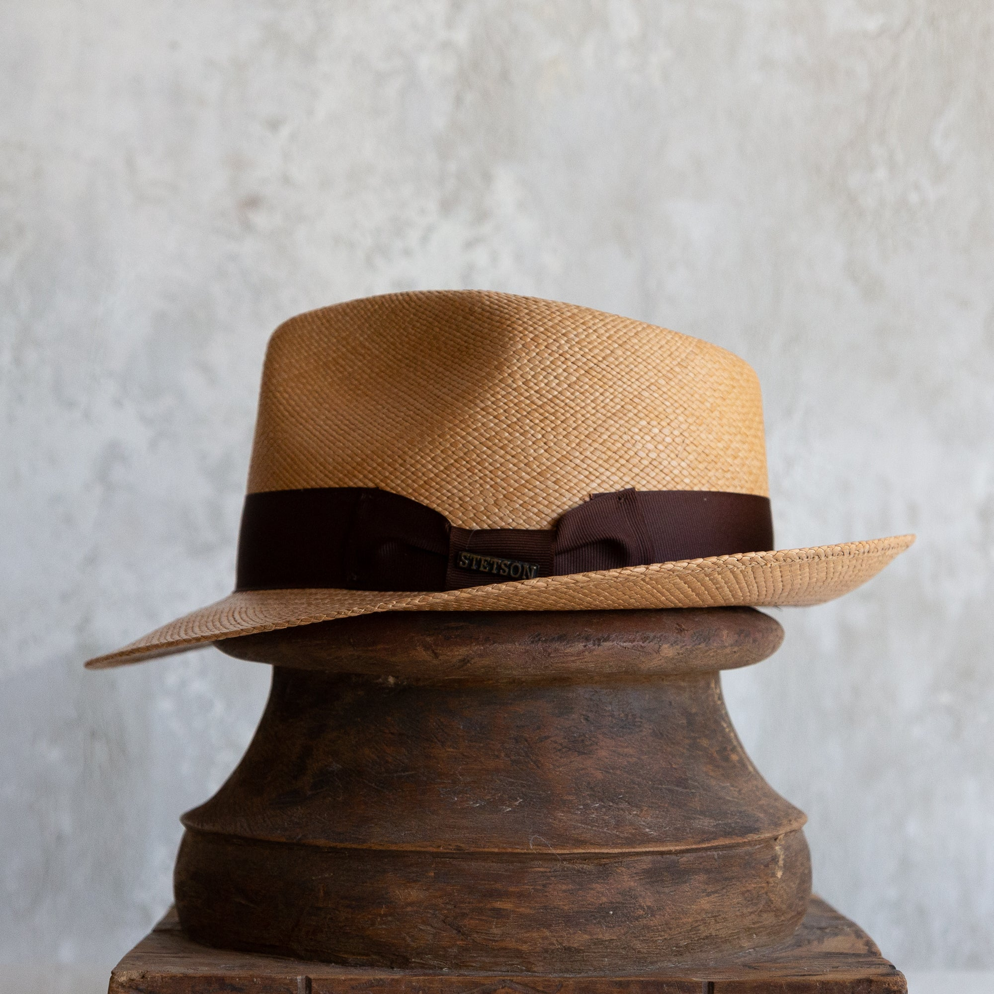 Aficionado Panama Straw Hat - Putty