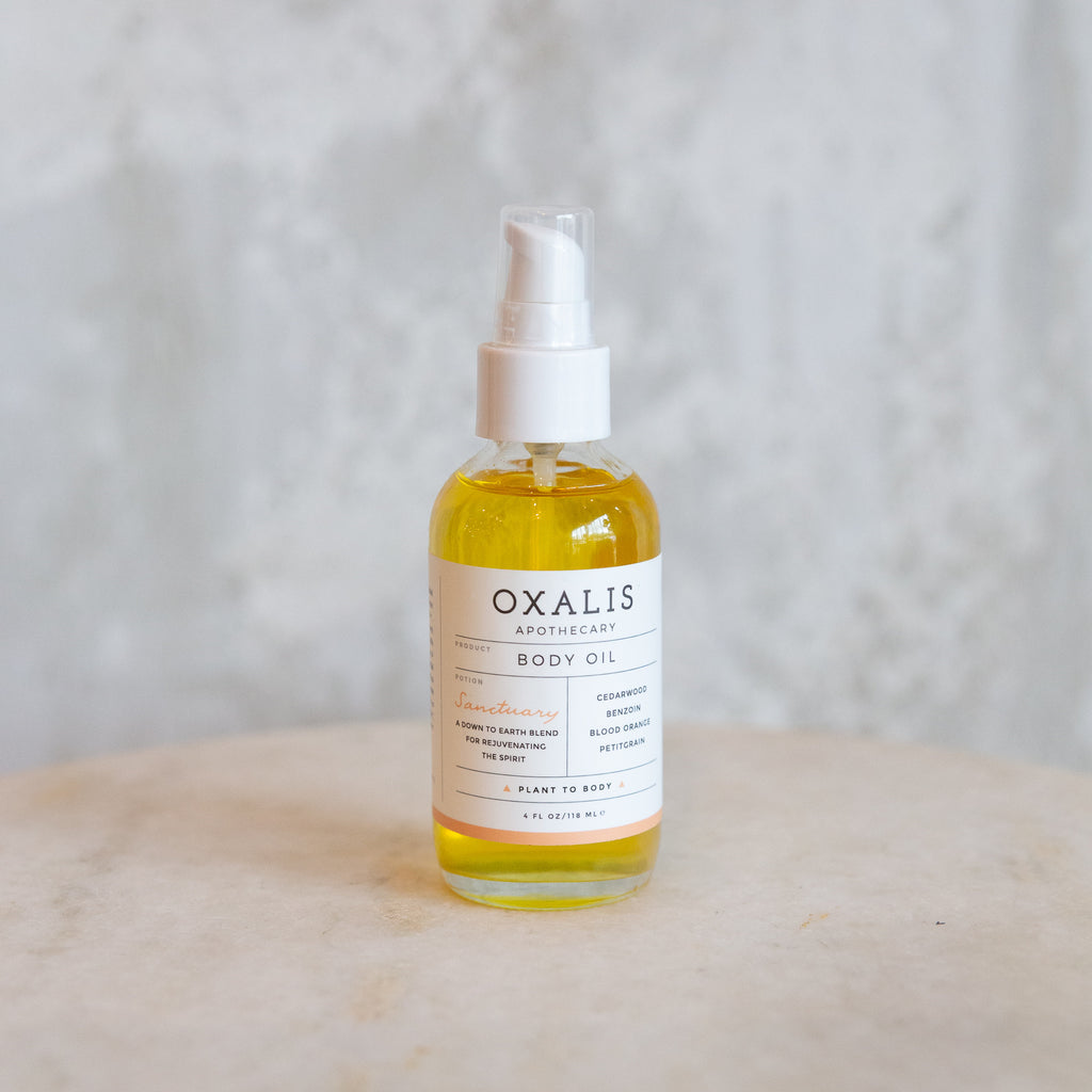 Oxalis Sanctuary Body Oil