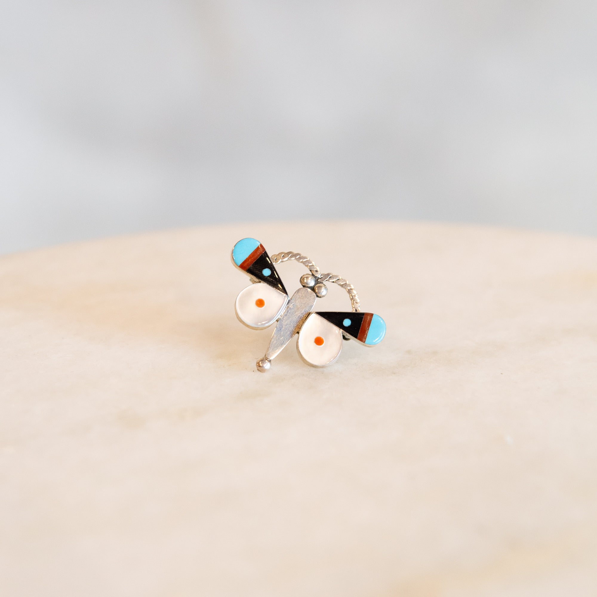 Zuni Turquoise Butterfly