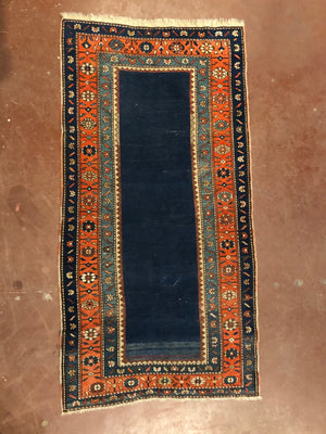 Navy Blue Center Runner