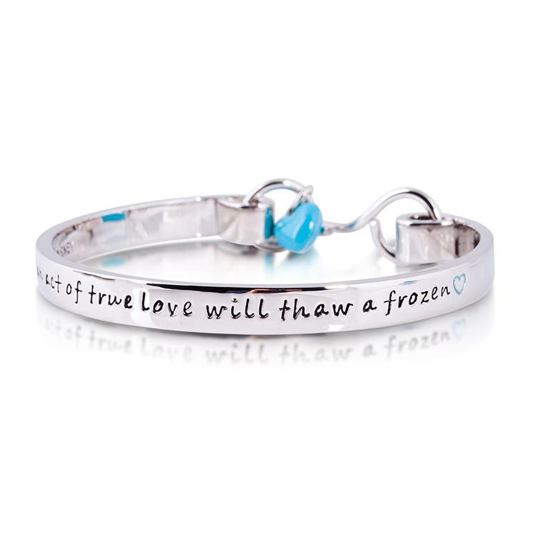 Disney Frozen Olaf Bangle - Couture Kingdom Benelux Bijoux Juwelen Disney Store Charm Bracelet Ketting Collier Oorbellen Boucles d'oreilles Bangle mickey mouse minnie mouse mary poppins dumbo la bella et la bete fée Clochette Alice au pays des merveilles pandora disney swarovski disney bijou cristal