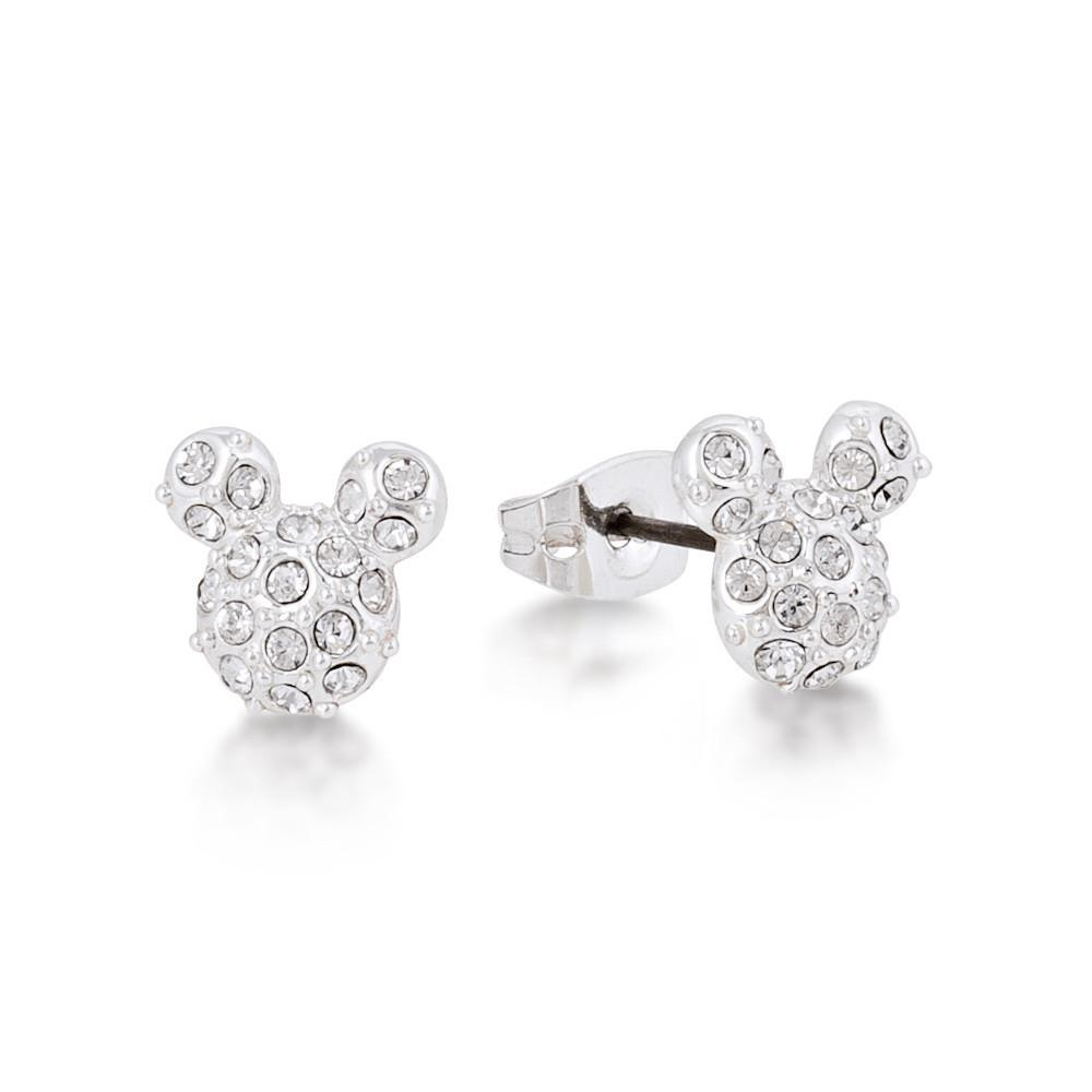 Disney Mickey Mouse Crystal Stud Earrings - Couture Kingdom Benelux