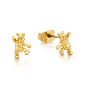 Disney Winnie the Pooh Stud Earrings - Couture Kingdom Benelux Bijoux Juwelen Disney Store Charm Bracelet Ketting Collier Oorbellen Boucles d'oreilles Earrings mickey mouse minnie mouse mary poppins dumbo la bella et la bete fée Clochette Alice au pays des merveilles pandora disney swarovski disney bijou cristal