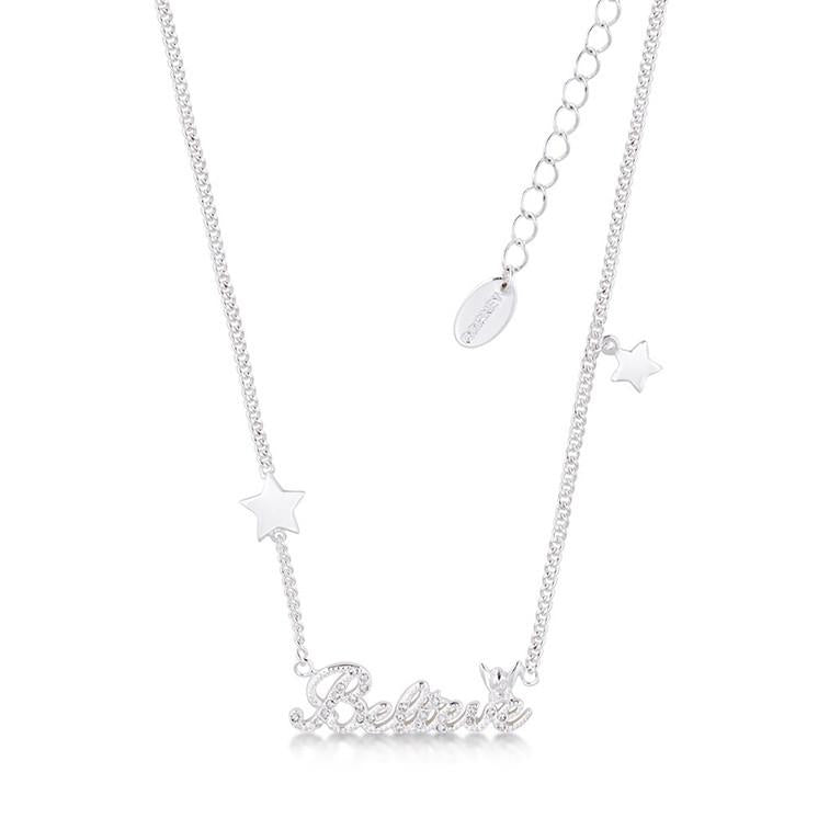 Kids Disney Tinker Bell Believe Necklace