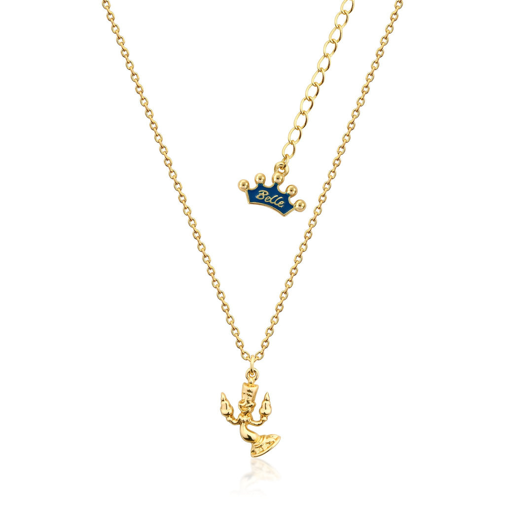 Kids Disney Beauty and the Beast Lumiere Necklace