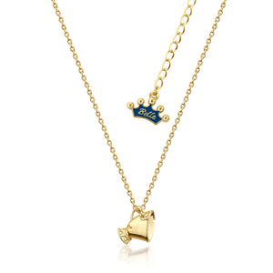 Kids Disney Beauty and the Beast Chip Necklace