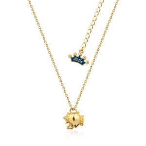 Kids Disney Beauty and the Beast Mrs Potts Necklace - Couture Kingdom Benelux