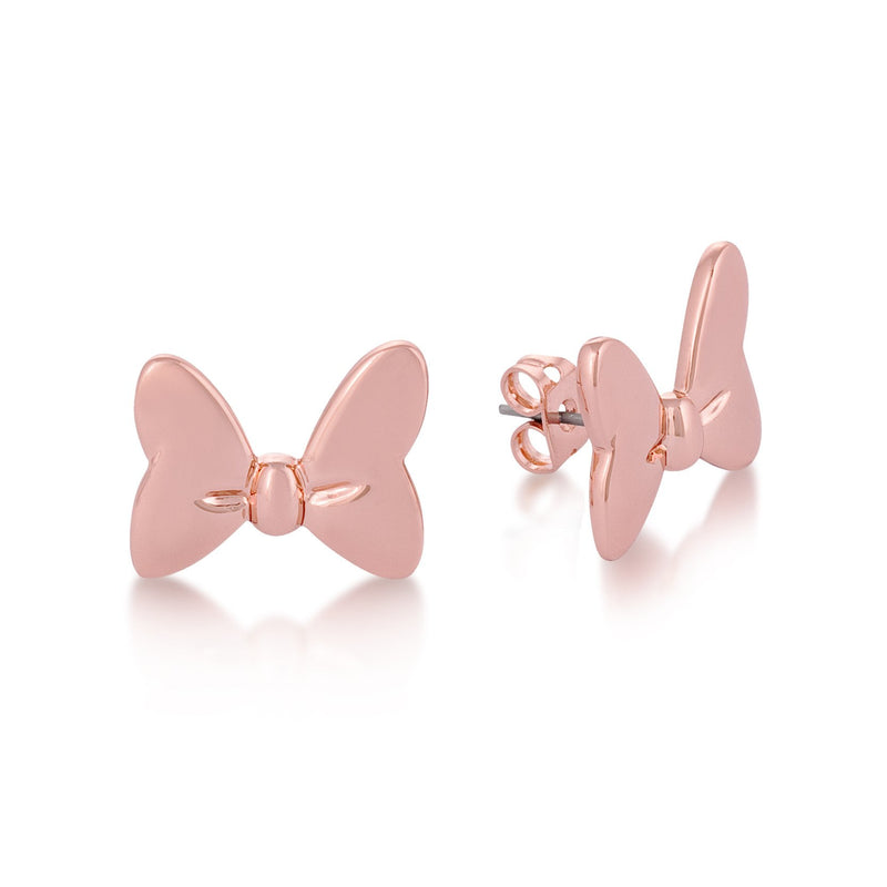 Disney Minnie Mouse Bow Studs - Couture Kingdom Benelux Bijoux Juwelen Disney Store Charm Bracelet Ketting Collier Oorbellen Boucles d'oreilles Earrings mickey mouse minnie mouse mary poppins dumbo la bella et la bete fée Clochette Alice au pays des merveilles pandora disney swarovski disney bijou cristal