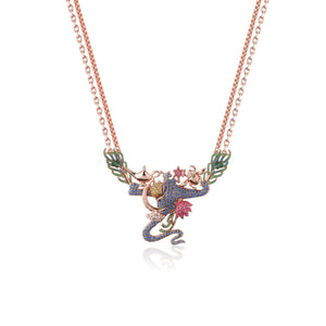Disney Aladdin Crystal Necklace - Couture Kingdom Benelux Bijoux Juwelen Disney Store Charm Bracelet Ketting Collier Oorbellen Boucles d'oreilles Necklace mickey mouse minnie mouse mary poppins dumbo la bella et la bete fée Clochette Alice au pays des merveilles pandora disney swarovski disney bijou cristal