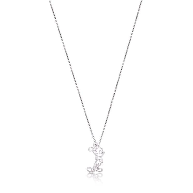 Kids Disney Mickey Mouse Outline Necklace