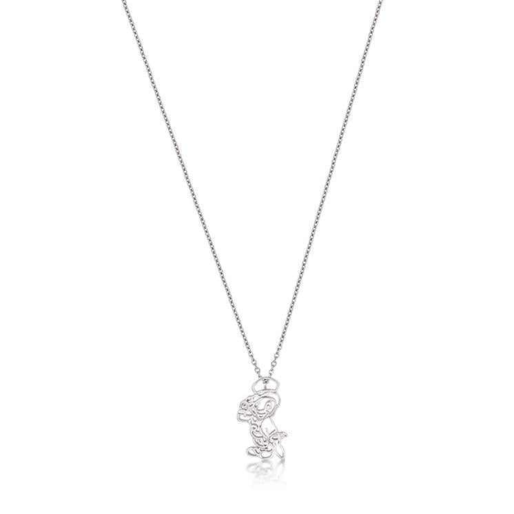 Kids Disney Jiminy Cricket Outline Necklace