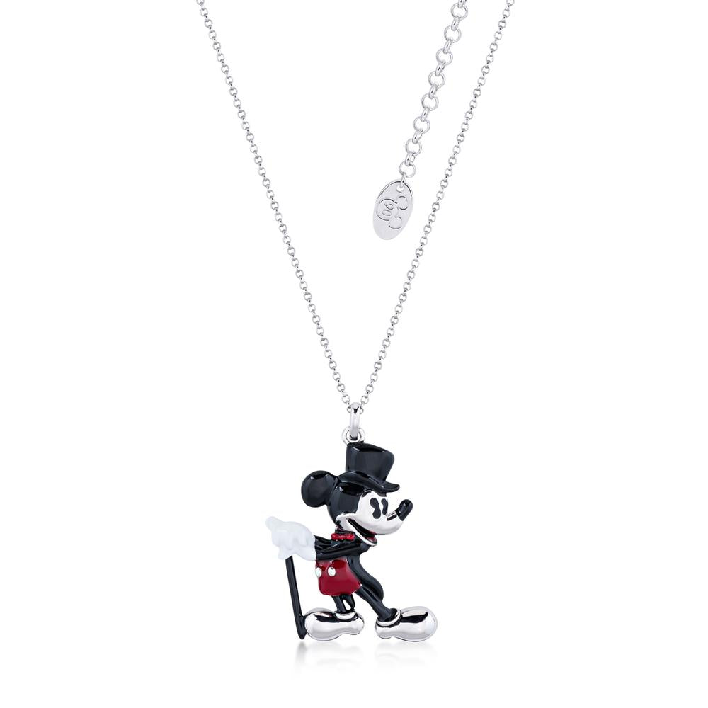 Disney Mickey Mouse Showman Necklace - Couture Kingdom Benelux Bijoux Juwelen Disney Store Charm Bracelet Ketting Collier Oorbellen Boucles d'oreilles Necklace mickey mouse minnie mouse mary poppins dumbo la bella et la bete fée Clochette Alice au pays des merveilles pandora disney swarovski disney bijou cristal