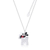 Disney Mickey Mouse Necklace - Couture Kingdom Benelux Bijoux Juwelen Disney Store Charm Bracelet Ketting Collier Oorbellen Boucles d'oreilles Necklace mickey mouse minnie mouse mary poppins dumbo la bella et la bete fée Clochette Alice au pays des merveilles pandora disney swarovski disney bijou cristal