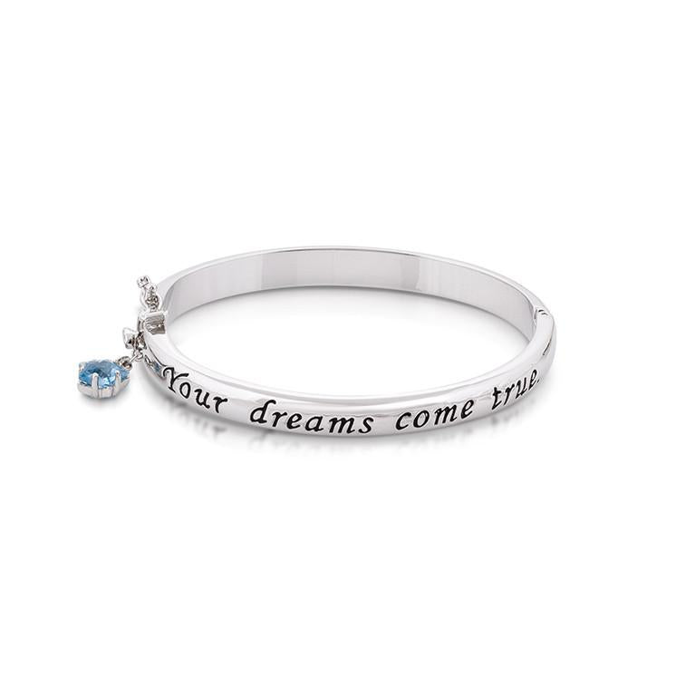 Disney Pinocchio Wish Upon A Star Bangle - Couture Kingdom Benelux Bijoux Juwelen Disney Store Charm Bracelet Ketting Collier Oorbellen Boucles d'oreilles Bangle mickey mouse minnie mouse mary poppins dumbo la bella et la bete fée Clochette Alice au pays des merveilles pandora disney swarovski disney bijou cristal