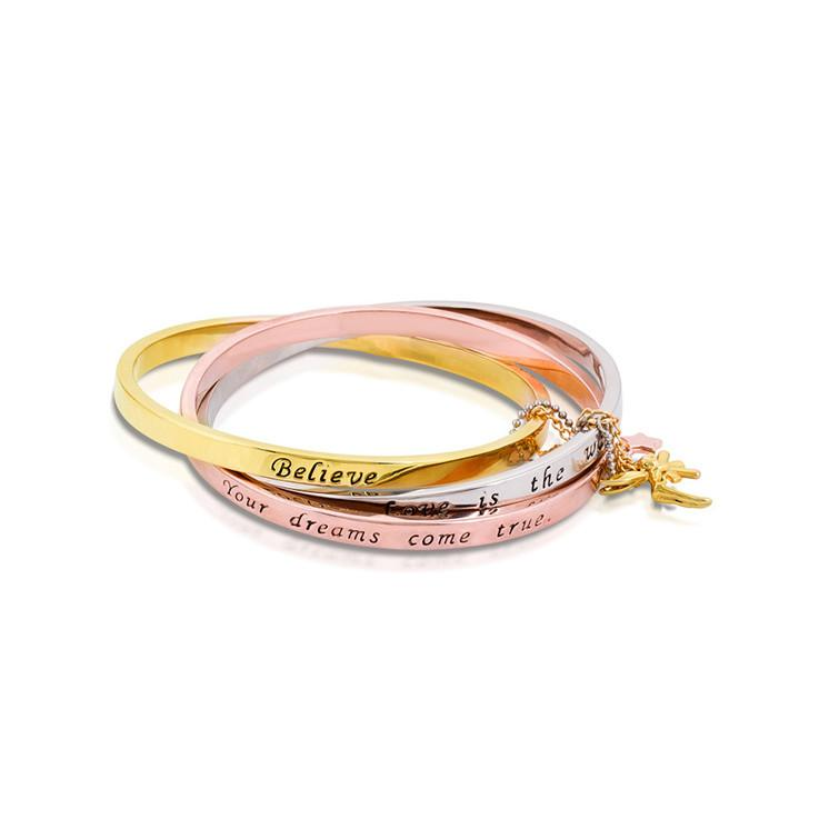Disney Tinker Bell Interlocking Bangle