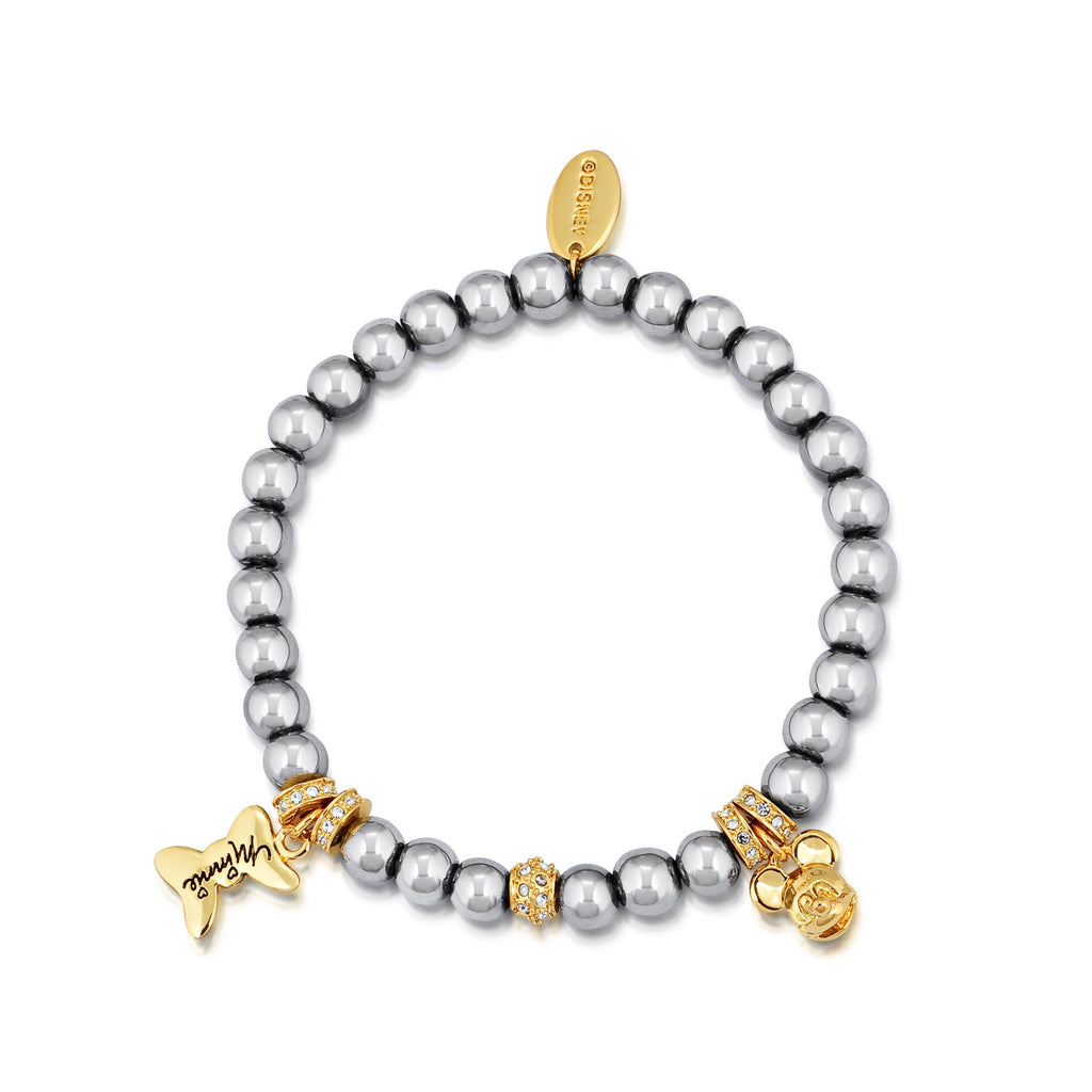 Disney Minnie and Mickey Beaded Bracelet - Couture Kingdom Benelux