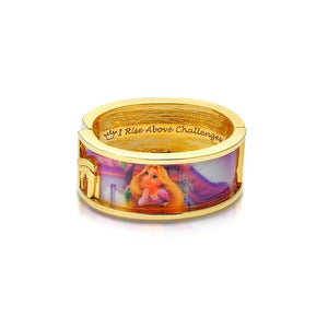 Disney Princess Tangled Rapunzel Bangle - Couture Kingdom Benelux Bijoux Juwelen Disney Store Charm Bracelet Ketting Collier Oorbellen Boucles d'oreilles Bangle mickey mouse minnie mouse mary poppins dumbo la bella et la bete fée Clochette Alice au pays des merveilles pandora disney swarovski disney bijou cristal