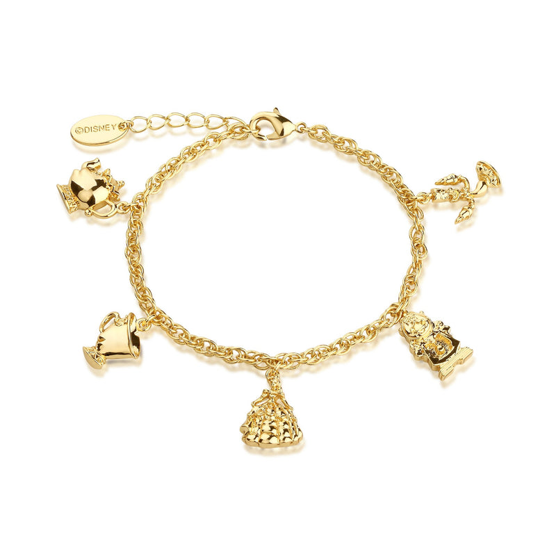 Disney Beauty and the Beast Charm Bracelet - Couture Kingdom Benelux