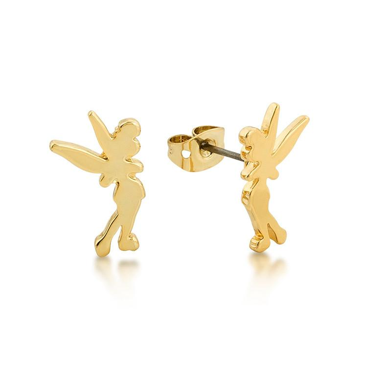 Disney Tinker Bell Silhouette Stud Earrings - Couture Kingdom Benelux Bijoux Juwelen Disney Store Charm Bracelet Ketting Collier Oorbellen Boucles d'oreilles Earrings mickey mouse minnie mouse mary poppins dumbo la bella et la bete fée Clochette Alice au pays des merveilles pandora disney swarovski disney bijou cristal
