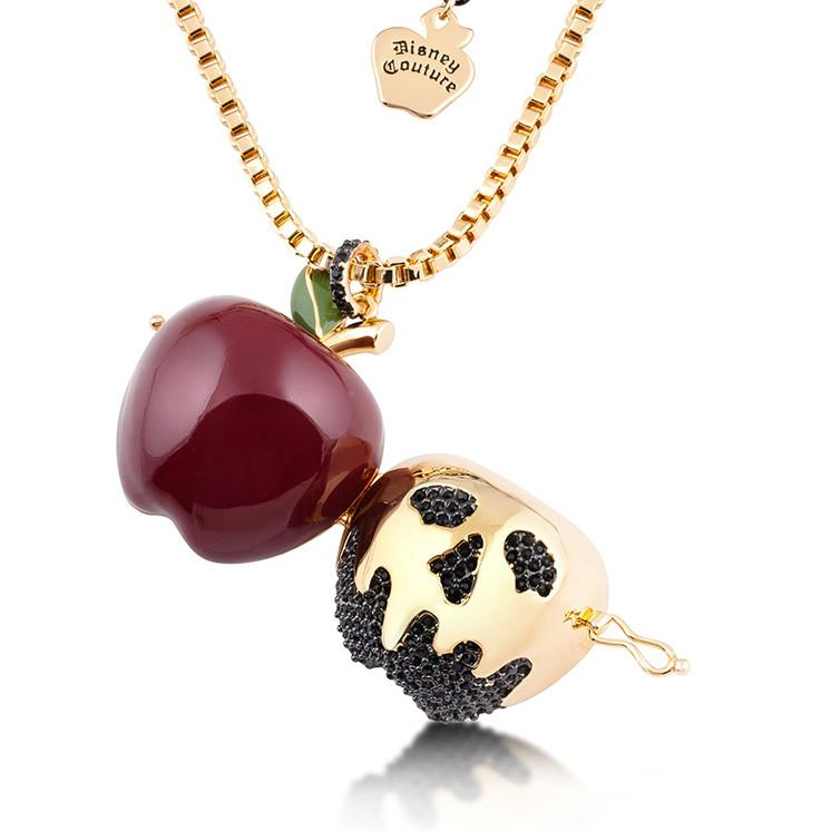 Disney Snow White Poison Apple Locket - Couture Kingdom Benelux Bijoux Juwelen Disney Store Charm Bracelet Ketting Collier Oorbellen Boucles d'oreilles Necklace mickey mouse minnie mouse mary poppins dumbo la bella et la bete fée Clochette Alice au pays des merveilles pandora disney swarovski disney bijou cristal
