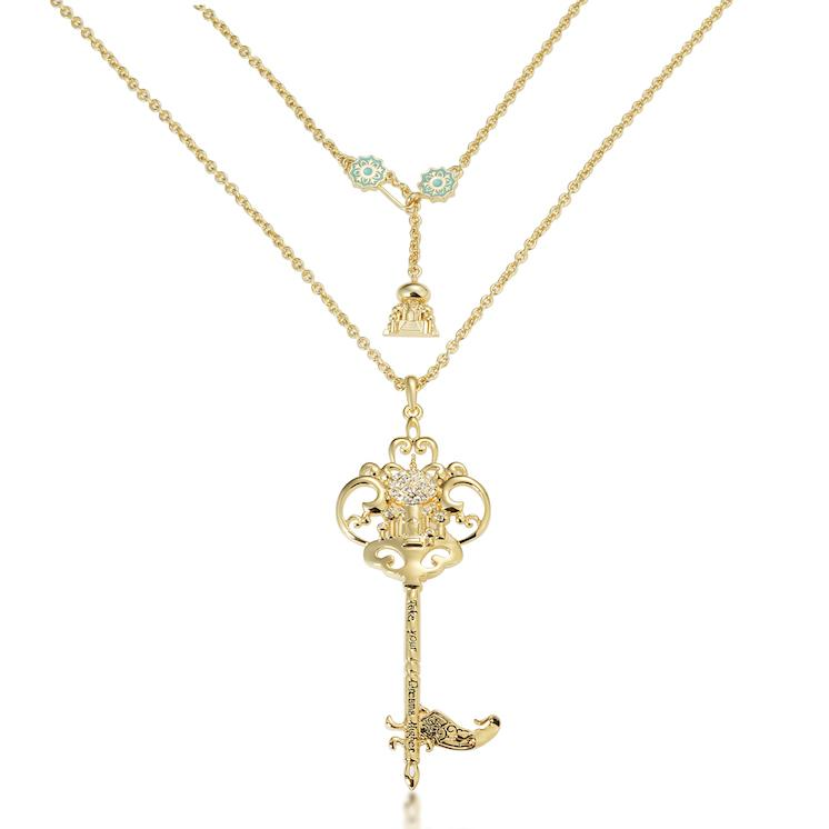 Disney Aladdin Princess Jasmine Key Necklace - Couture Kingdom Benelux