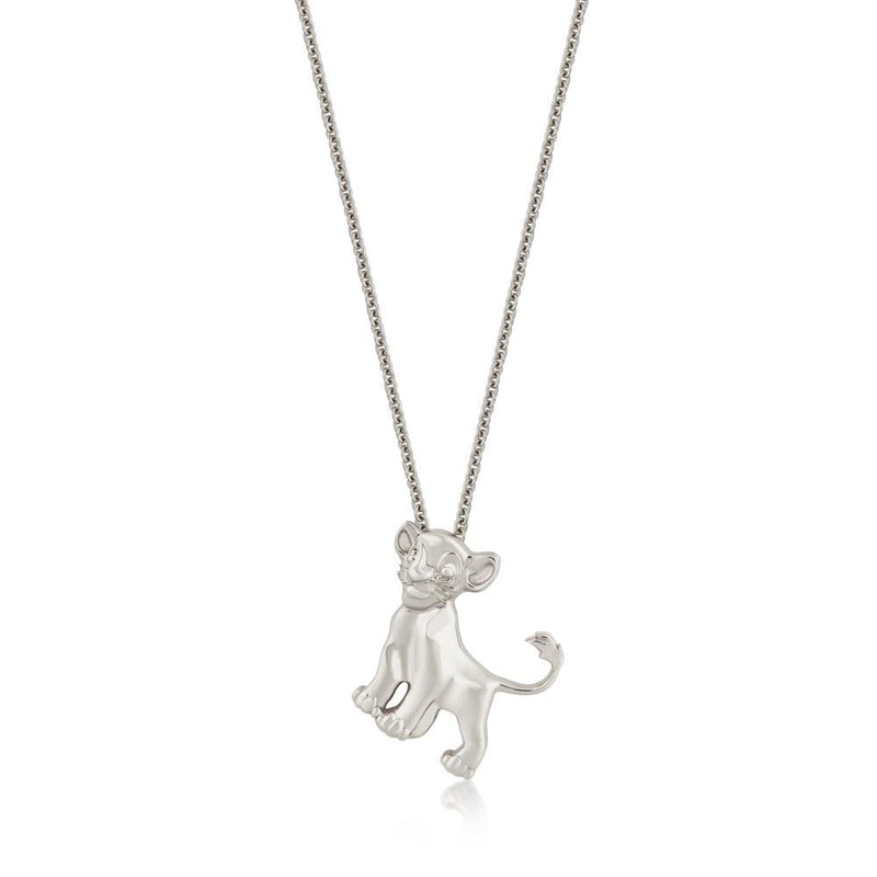 Disney The Lion King Precious Metal Simba Necklace