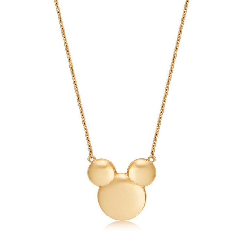 Disney Precious Metal Mickey Mouse Necklace - Couture Kingdom Benelux Bijoux Juwelen Disney Store Charm Bracelet Ketting Collier Oorbellen Boucles d'oreilles Necklace mickey mouse minnie mouse mary poppins dumbo la bella et la bete fée Clochette Alice au pays des merveilles pandora disney swarovski disney bijou cristal