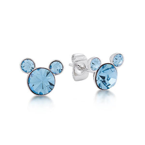 Disney Mickey March Birthstone Stud Earrings - Couture Kingdom Benelux