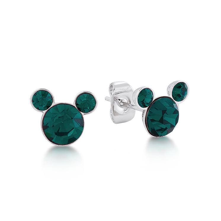 Disney Mickey May Birthstone Stud Earrings - Couture Kingdom Benelux Bijoux Juwelen Disney Store Charm Bracelet Ketting Collier Oorbellen Boucles d'oreilles Earrings mickey mouse minnie mouse mary poppins dumbo la bella et la bete fée Clochette Alice au pays des merveilles pandora disney swarovski disney bijou cristal