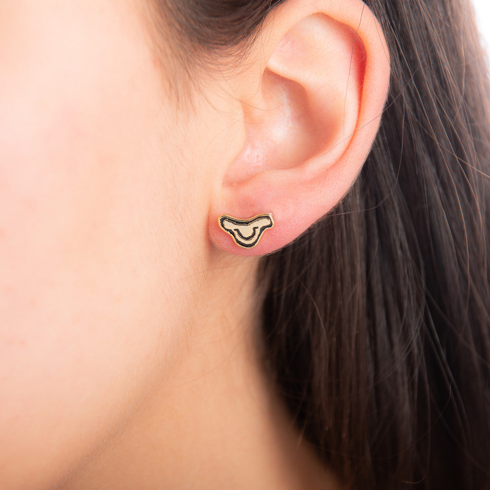 Disney The Lion King Simba Head Stud Earrings