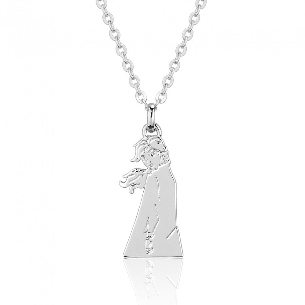Disney Frozen II White Gold-Plated Princess Anna Necklace - Couture Kingdom Benelux Bijoux Juwelen Disney Store Charm Bracelet Ketting Collier Oorbellen Boucles d'oreilles Necklace mickey mouse minnie mouse mary poppins dumbo la bella et la bete fée Clochette Alice au pays des merveilles pandora disney swarovski disney bijou cristal