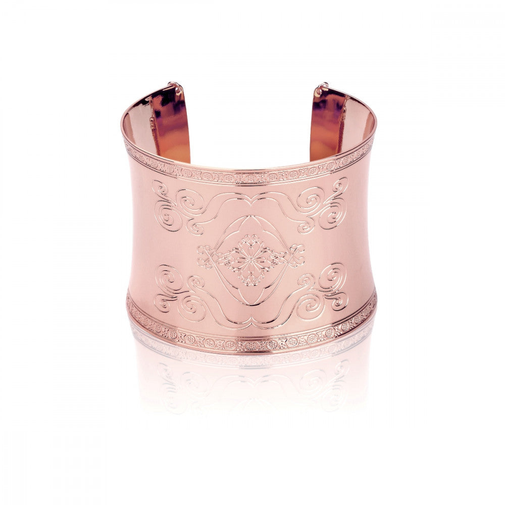 Disney Aladdin Rose Gold-Plated Magic Carpet Cuff