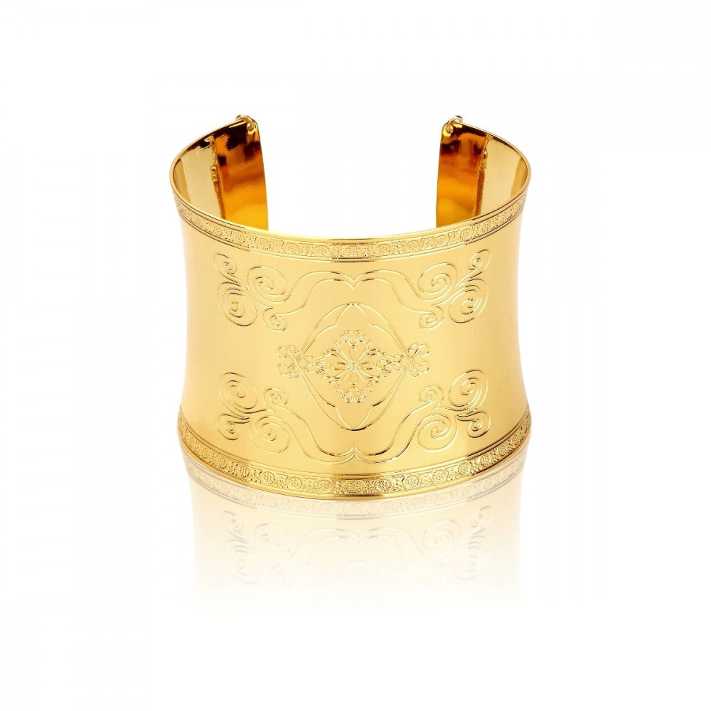 Disney Aladdin Gold-Plated Magic Carpet Cuff