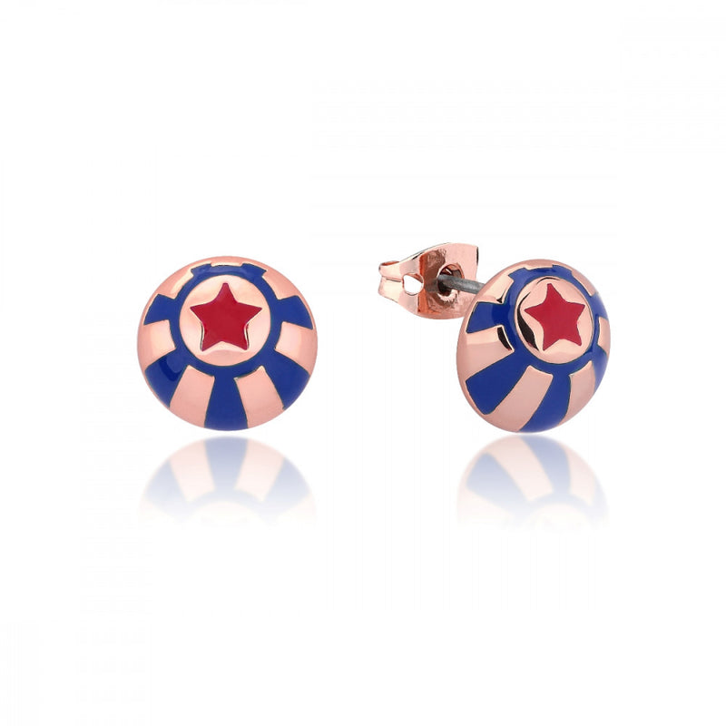 Disney Dumbo Rose Gold-Plated Circus Ball Stud Earrings - Couture Kingdom Benelux Bijoux Juwelen Disney Store Charm Bracelet Ketting Collier Oorbellen Boucles d'oreilles Earrings mickey mouse minnie mouse mary poppins dumbo la bella et la bete fée Clochette Alice au pays des merveilles pandora disney swarovski disney bijou cristal