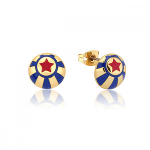 Disney Dumbo Gold-Plated Circus Ball Stud Earrings - Couture Kingdom Benelux Bijoux Juwelen Disney Store Charm Bracelet Ketting Collier Oorbellen Boucles d'oreilles Earrings mickey mouse minnie mouse mary poppins dumbo la bella et la bete fée Clochette Alice au pays des merveilles pandora disney swarovski disney bijou cristal