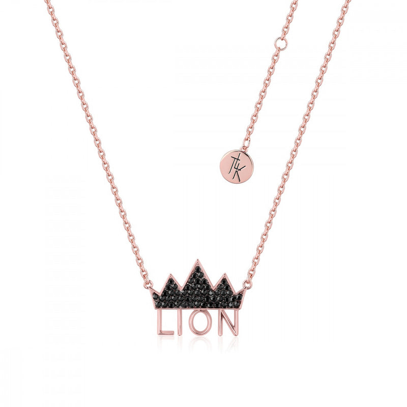 Disney The Lion King Crown Necklace - Couture Kingdom Benelux Bijoux Juwelen Disney Store Charm Bracelet Ketting Collier Oorbellen Boucles d'oreilles Necklace mickey mouse minnie mouse mary poppins dumbo la bella et la bete fée Clochette Alice au pays des merveilles pandora disney swarovski disney bijou cristal