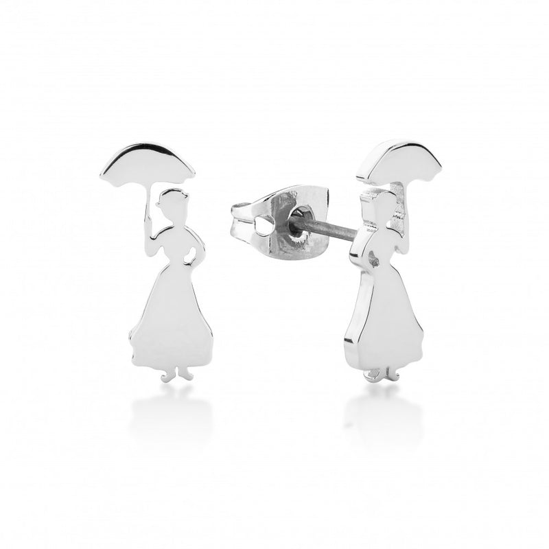 Disney Mary Poppins Stud Earrings - Couture Kingdom Benelux Bijoux Juwelen Disney Store Charm Bracelet Ketting Collier Oorbellen Boucles d'oreilles Earrings mickey mouse minnie mouse mary poppins dumbo la bella et la bete fée Clochette Alice au pays des merveilles pandora disney swarovski disney bijou cristal