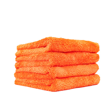 4 Orange Eagle Edgeless 500 Microfiber Towel (16x16)