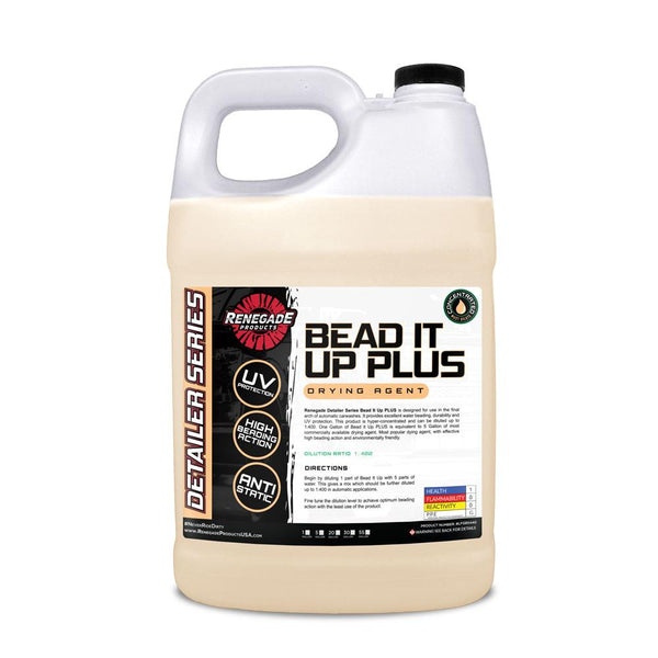 Renegade Bead It Up Plus Drying Agent - Renegade - Exterior Protection - Car Supplies Warehouse