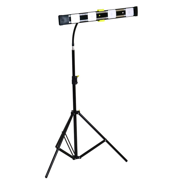 Agilux 3600 Lumen Portable LED Work Light With Goosenecking Stand