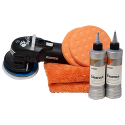 Rupes BigFoot LHR12E Duetto Paint Correction Detailer's Kit
