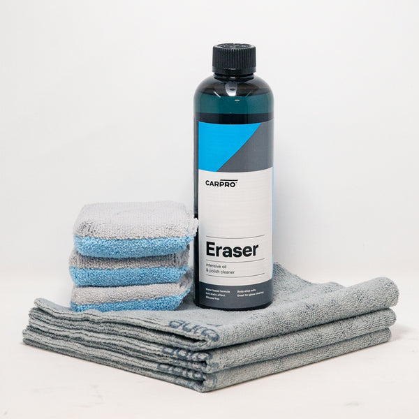 CarPro Eraser Ceramic Coating Accessories Kit - CarPro kit - Exterior Detailing - Car Supplies Warehouse