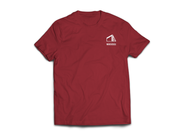 Car Supplies Warehouse Maroon Logo Shirt