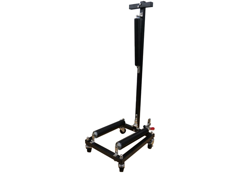 Cycloshine Pro Wheel Detailing Stand - Frame and Rollers