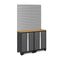 New Age Bold Series 3 Piece Cabinet Set with Slatwall - Car Supplies Warehouse