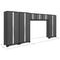 New Age Bold Series Gray 6 Piece Cabinet Set - Car Supplies Warehouse