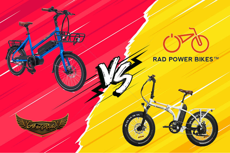 Rad Power RadMini vs Ariel Rider M-Class. Which is the best Electric Bike?