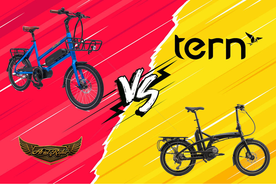Tern Vektron vs. Ariel Rider. Which electric folding bike is better?